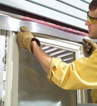 Облицювальний картон і гідроізоляція вікна