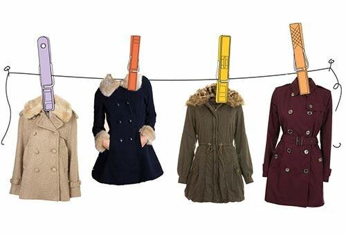 Как постирать зимнее пальто